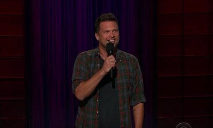 Julian McCullough on The Late Late Show with James Corden