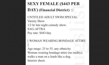 "Adult Swim ad seeks ""Sexy Female"" for comedy special"