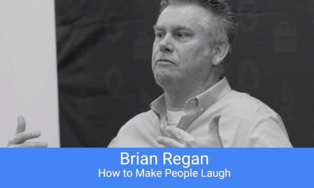"Brian Regan talks to Google: ""How to Make People Laugh"""