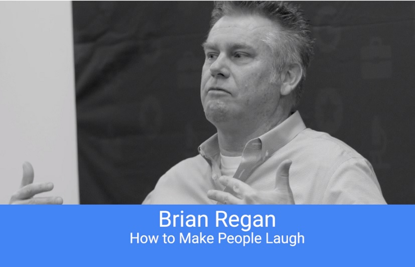 "Brian Regan talks to Google: ""How to Make People Laugh"""