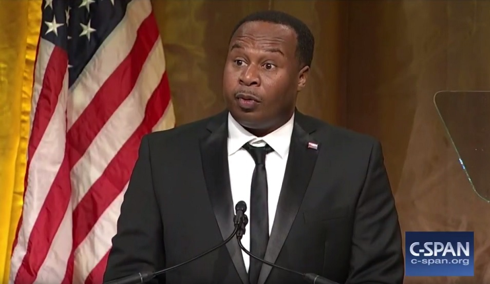 Roy Wood Jr. keynote speech at 2017 Radio and TV Correspondents Dinner