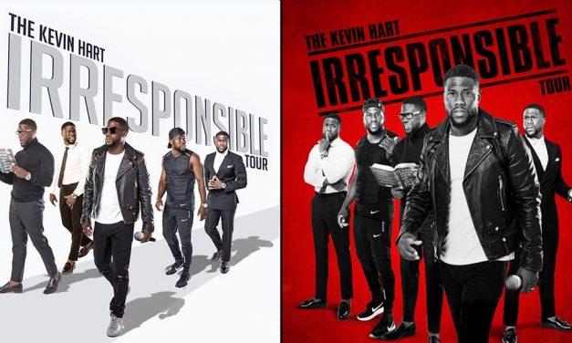 Kevin Hart announces 2018 Irresponsible Tour
