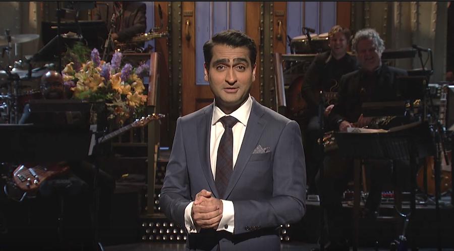 Kumail Nanjiani monologue for Saturday Night Live