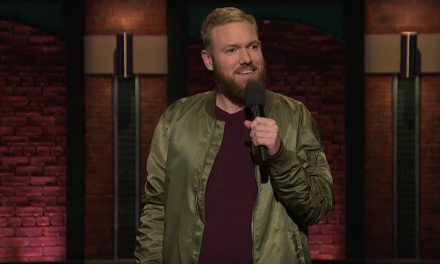 Kenny DeForest on Late Night with Seth Meyers