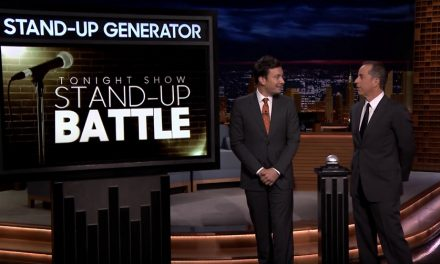 Jimmy Fallon tries to out-Seinfeld Jerry Seinfeld on The Tonight Show Starring Jerry Seinfeld