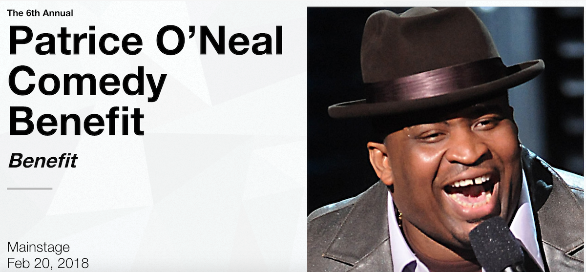 Date and lineup announced for 2018 Patrice Oneal comedy benefit