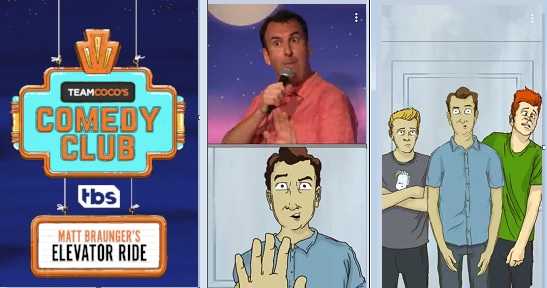 Team Coco's Comedy Club animates stand-up routines on Snapchat