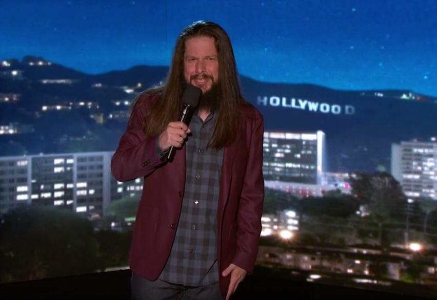Chris Laker on Jimmy Kimmel Live