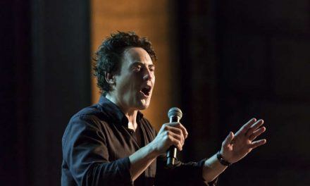 "Review: Orny Adams, ""More Than Loud"" on Showtime"