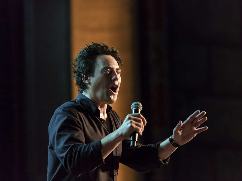 """Review: Orny Adams, """"More Than Loud"""" on Showtime"""