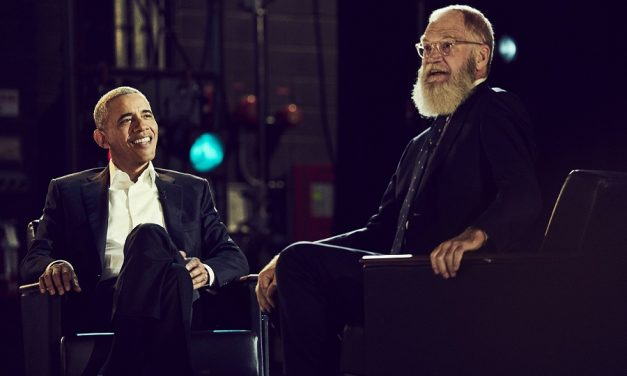Neither late-night talk show nor podcast, David Letterman's new Netflix series is better than both