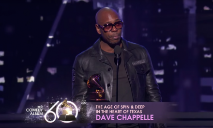 Dave Chappelle wins the Grammy Award for Comedy Album of the Year