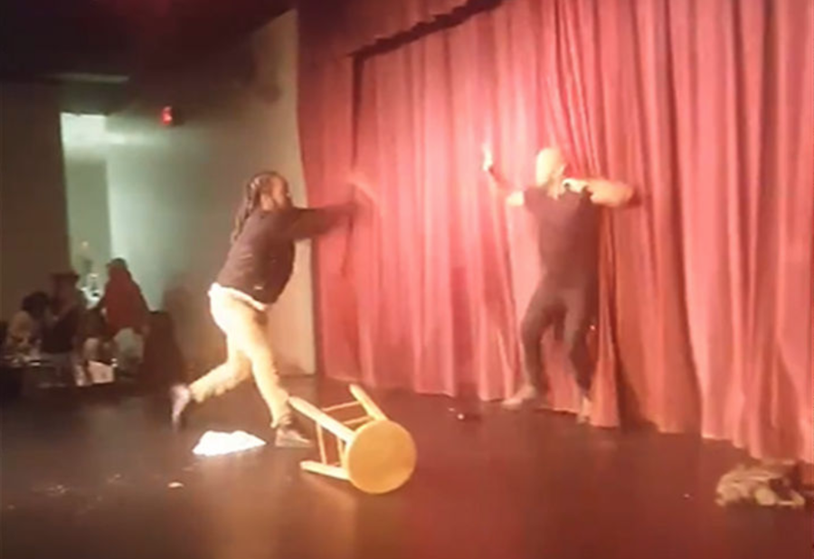 Comedian attacked onstage at South Carolina comedy club. Where was security?
