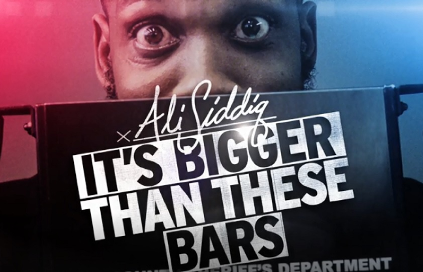 Ali Siddiq goes back to jail for his first Comedy Central stand-up special