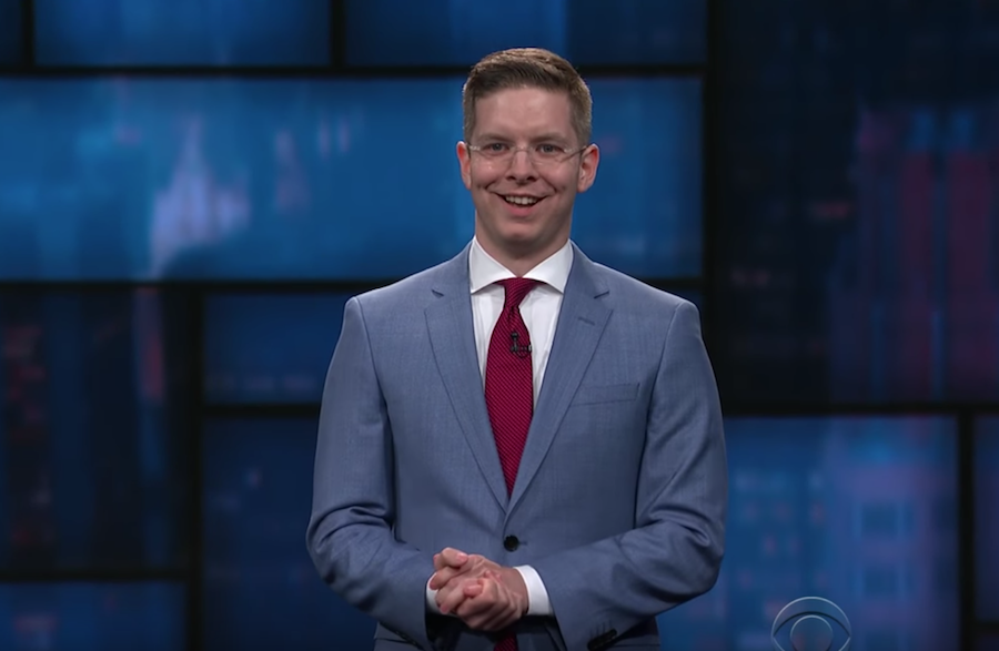 Jacob Williams on The Late Show with Stephen Colbert