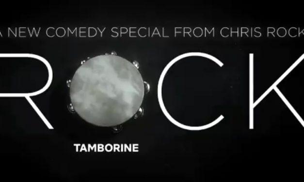 "Chris Rock dropping his Netflix ""Tamborine"" for Valentine's Day 2018"