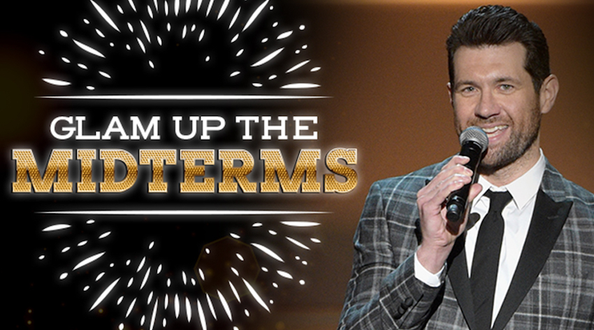 """Billy Eichner and Funny or Die """"Glam Up The Midterms"""""""