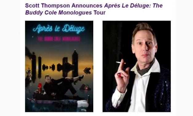 Scott Thompson announces Buddy Cole tour