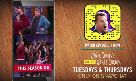 """James Corden seeks """"Next James Corden"""" in CBS Snapchat series"""