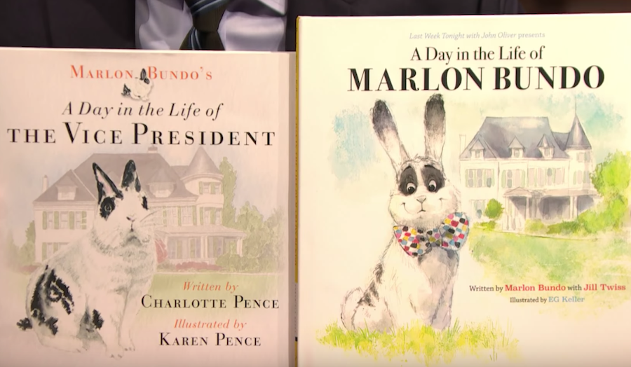 Pence parody book has a happy ending