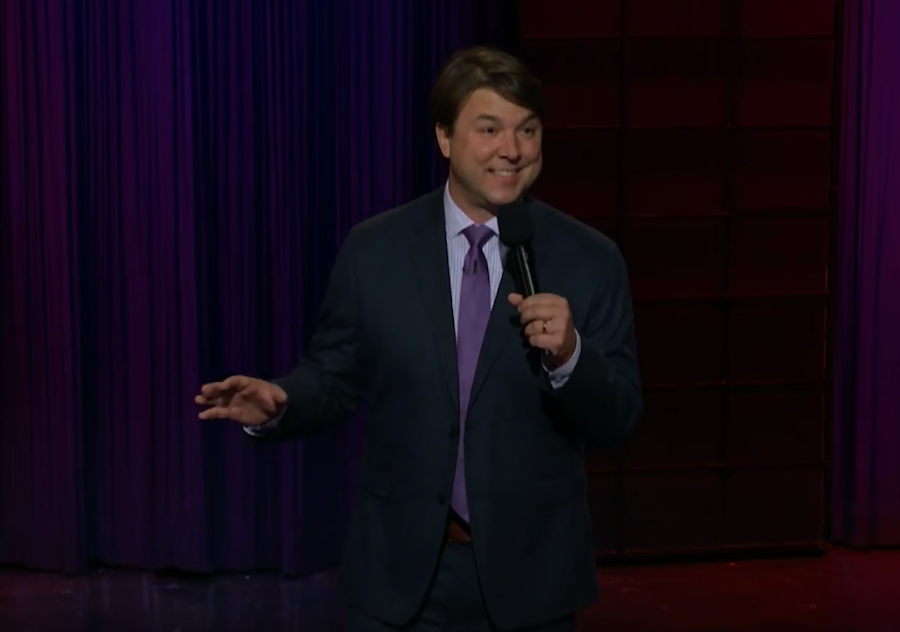 Andy Woodhull on The Late Late Show with James Corden