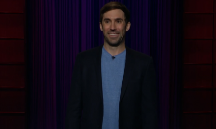 Michael Palascak on The Late Late Show with James Corden