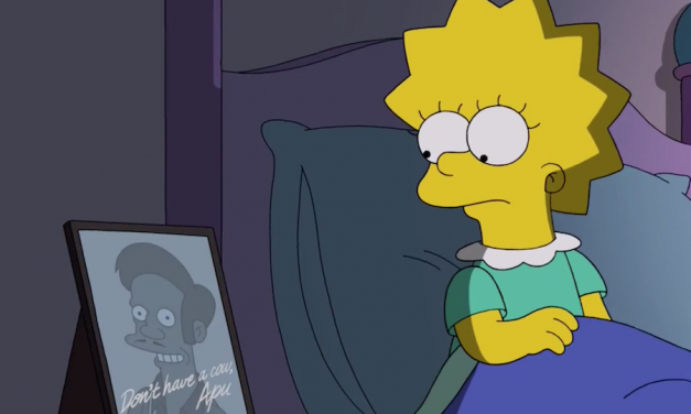 """The Simpsons ineptly defends Apu as once upon a time """"applauded and inoffensive"""""""