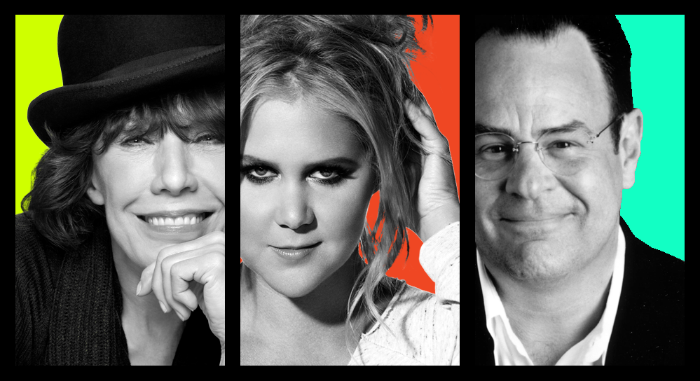 Lily Tomlin, Amy Schumer, and SNL's original cast/writers to headline 2018 Lucille Ball Comedy Fest and the opening of the National Comedy Center