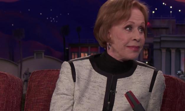 Carol Burnett tells Conan about defying sexism to launch The Carol Burnett Show