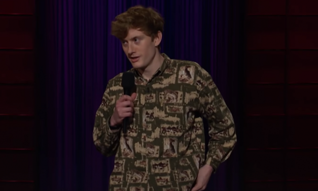 James Acaster on The Late Late Show with James Corden