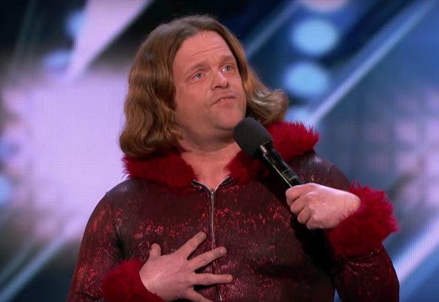 """Roast battler Alex Hooper """"auditions"""" for America's Got Talent 2018"""