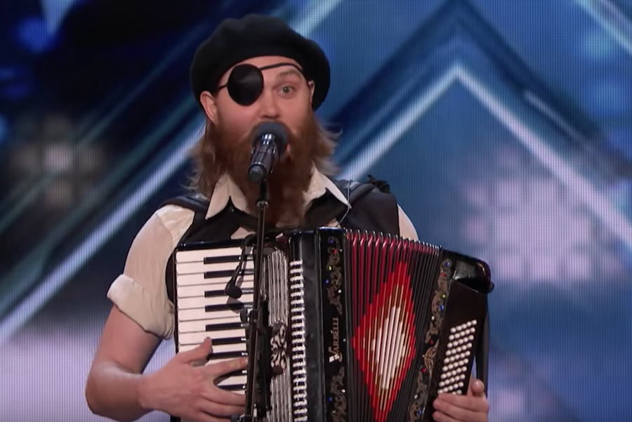 """French Accent"" Kevin Bennett wins over the crowd on America's Got Talent 2018"