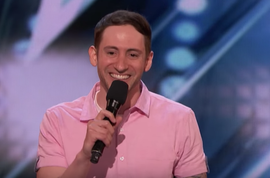 Samuel J. Comroe auditions for America's Got Talent 2018