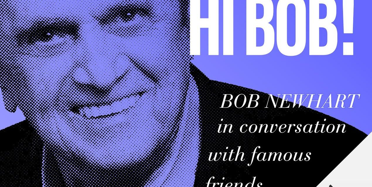 """Hi Bob!"" Bob Newhart releases new podcast exclusively on Audible"