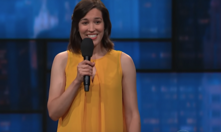 Carmen Lagala on The Late Show with Stephen Colbert