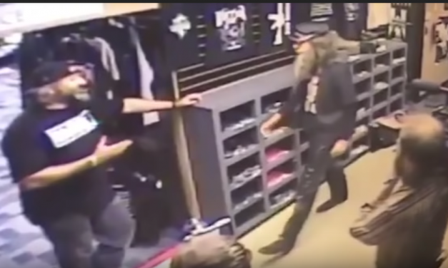 Sacha Baron Cohen character exposed by California gun store owner