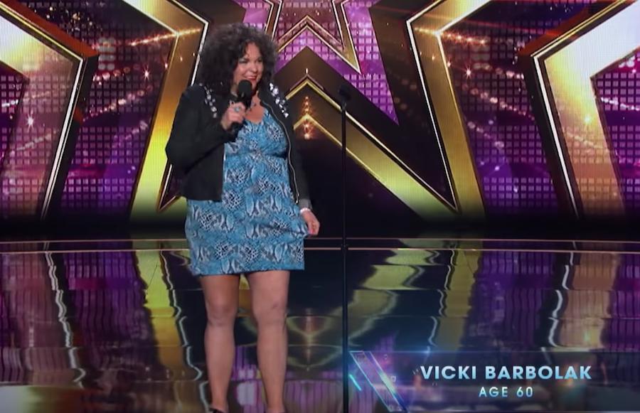 Vicki Barbolak survives Judges Cuts for America's Got Talent 2018