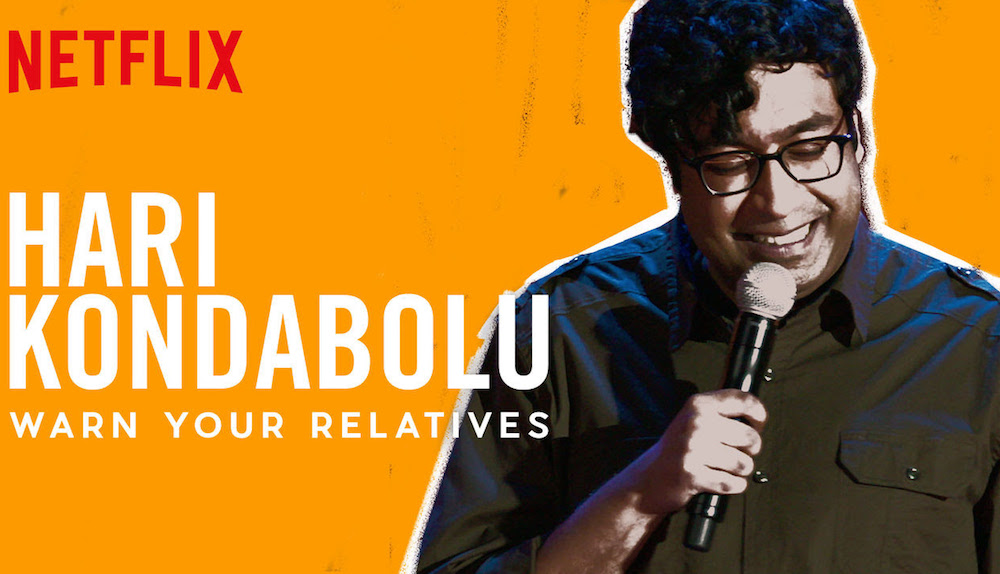 "Review: Hari Kondabolu, ""Warn Your Relatives"" on Netflix"