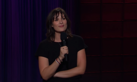 Lisa Best on The Late Late Show with James Corden