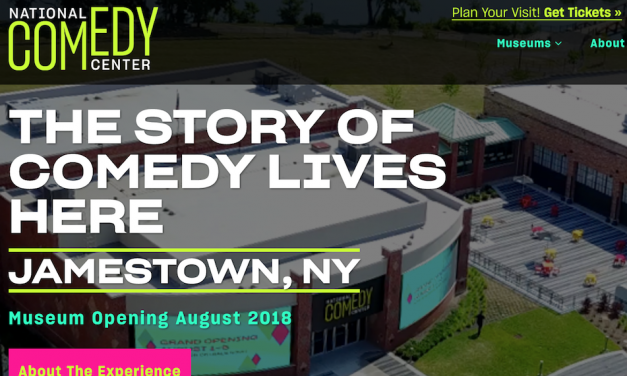 Welcome to the National Comedy Center in Jamestown, NY