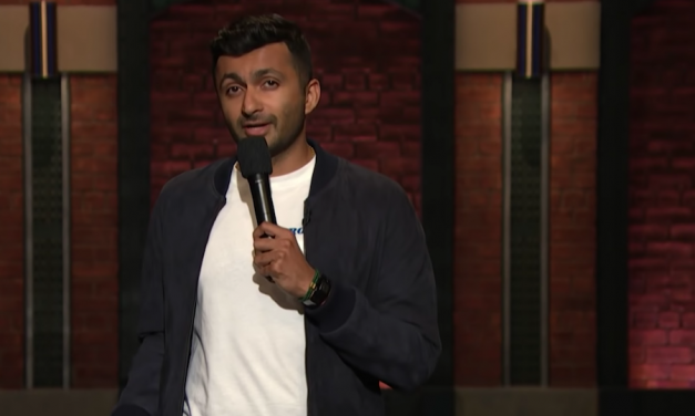 Nimseh Patel on Late Night with Seth Meyers