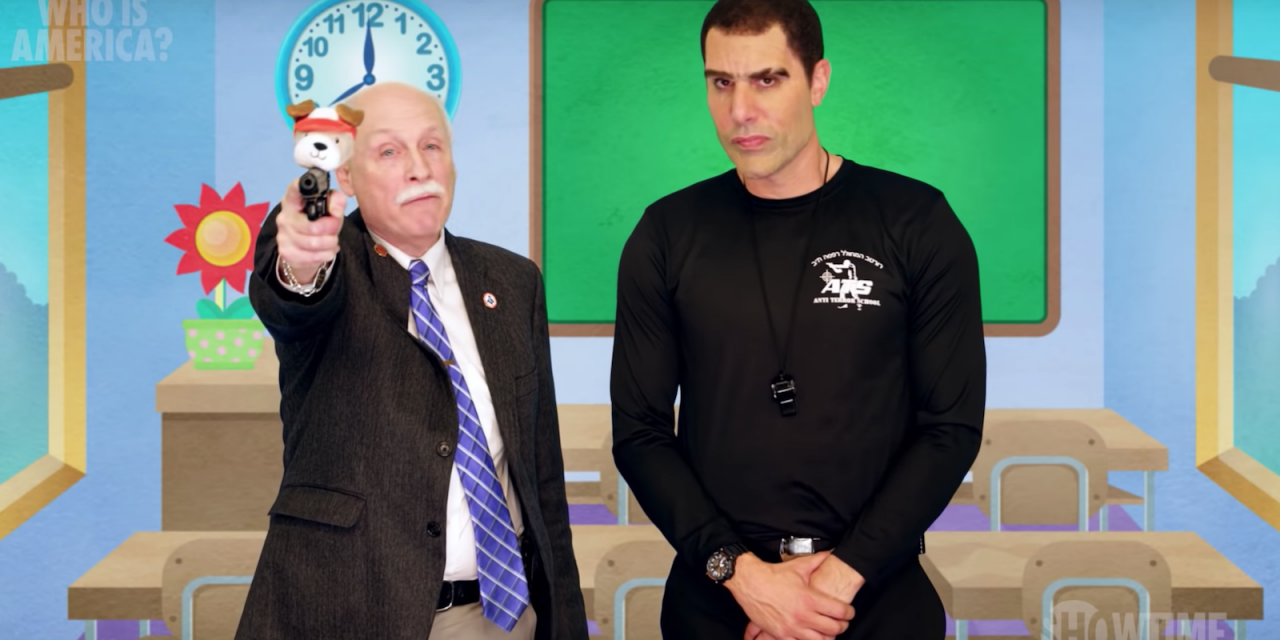 Who Is Sacha Baron Cohen Fooling In 'Who Is America?' On Showtime