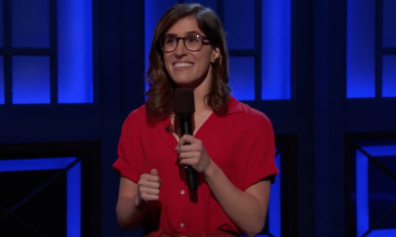 Emmy Blotnick on Conan