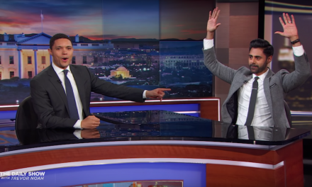 Hasan Minhaj bids farewell to The Daily Show