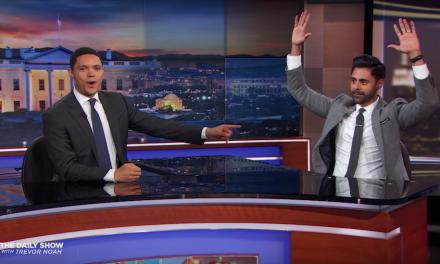 Hasan Minhaj bids farewell to The Daily Show