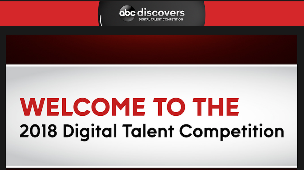 """Enter ABC Network's """"Discovers"""" digital talent search"""