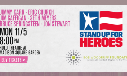 Springsteen and Eric Church join 12th annual Stand Up For Heroes to kick off 2018 New York Comedy Fest