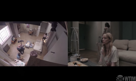 "Behind the scenes of Riki Lindhome's one-shot long-take scene from Showtime's ""Kidding"""