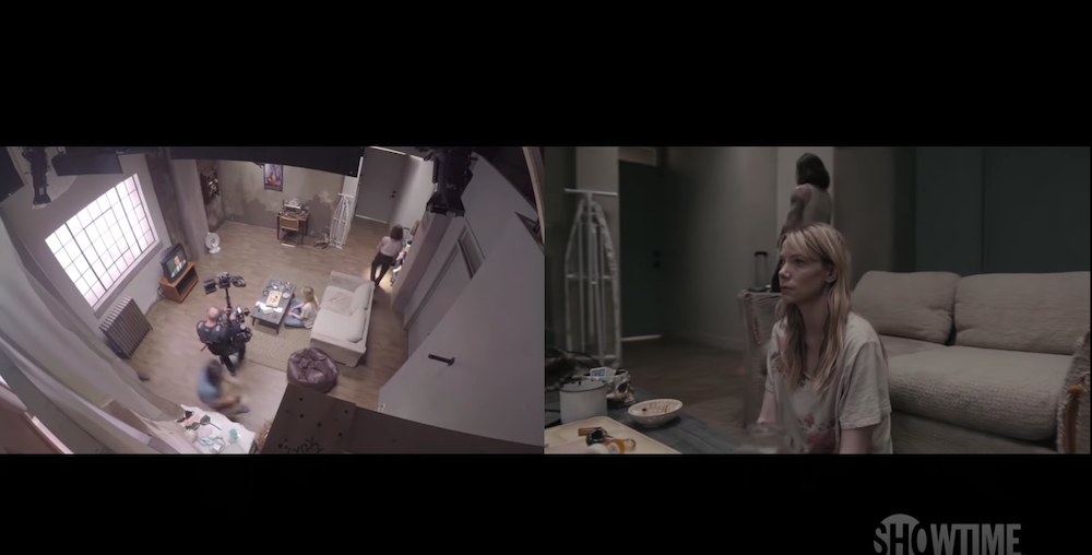 """Behind the scenes of Riki Lindhome's one-shot long-take scene from Showtime's """"Kidding"""""""