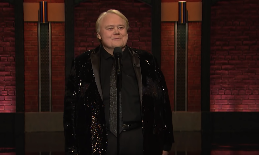Louie Anderson on Late Night with Seth Meyers
